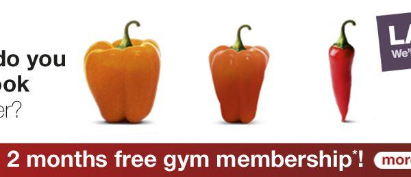LA Fitness Banner