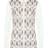 Random image: Monsoon Penny Paisley Embroidered Shirt GBP 49.00