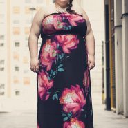 Random image: Summer Romance 2014 - Blogger Hanna from The Wardrobe Challenge in the Bandeau Maxi Dress
