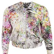 Random image: floral print bomber £115
