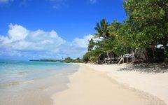 Lano Beach - Savai'i     Taken just outside our beach fale