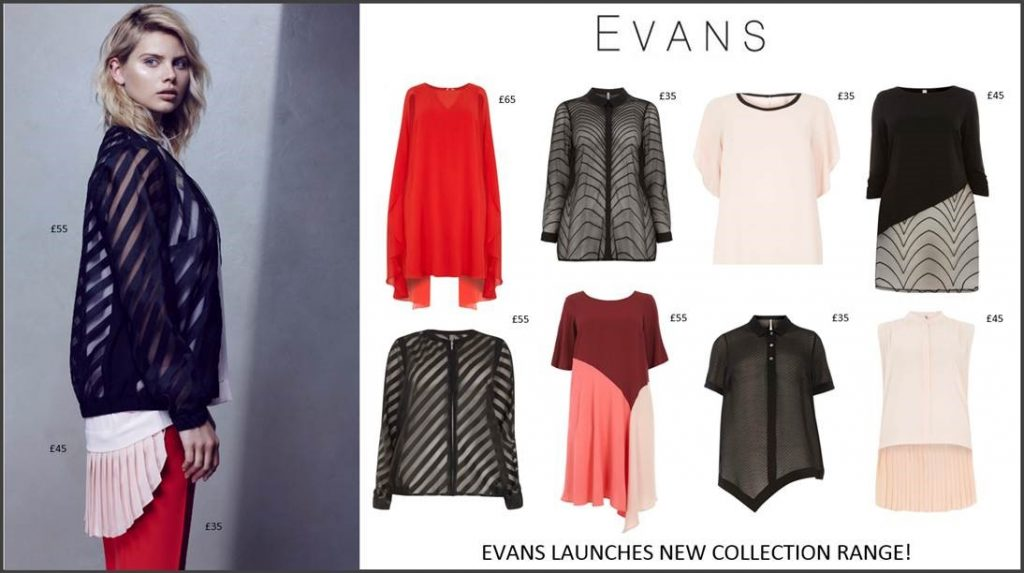Evans Launches New Collection Range