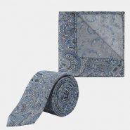 Burton Tie & Pocket Square Combination