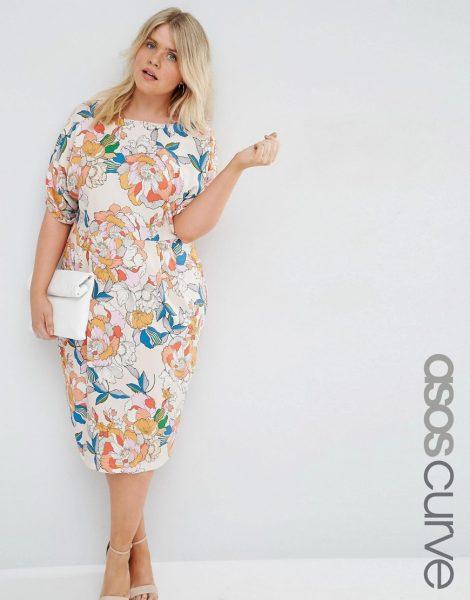 5 Perfect Floral Plus Size Dresses Slink Magazine