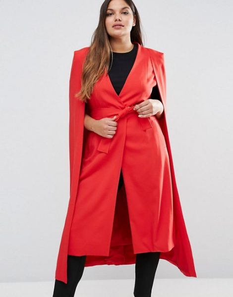 plus size red party dress asos