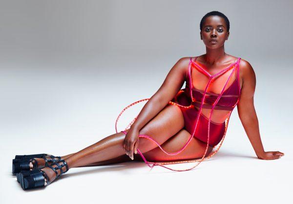 Philomena Kwao plus size fashion model