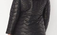 curvy padded puffa coat