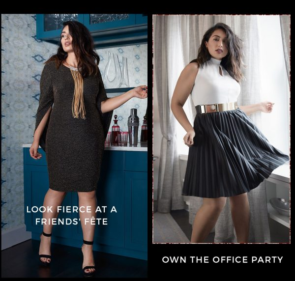 plus size holiday fashion