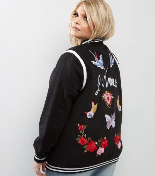 curves-black-lamour-embroidered-bomber-jacket