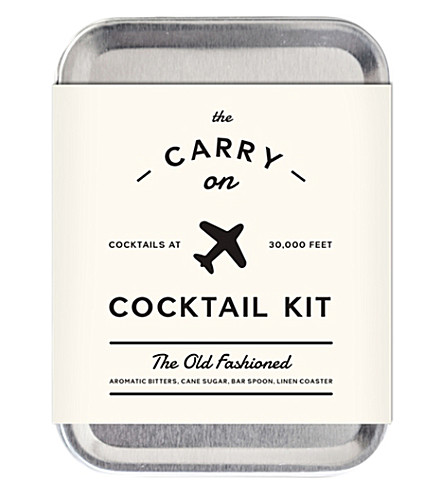 cocktail carry on kit selfridges