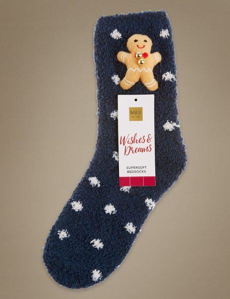 marks and spencer christmas socks