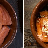 Random image: salmon-before-after