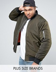 plus size bomber jacket menswear asos