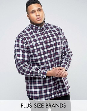ASOS plus size mens clothing shirt