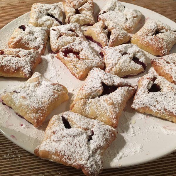 quark parcels festive christmas recipe baking