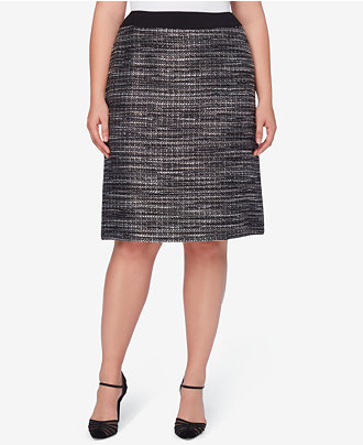 elie tahari plus size designer fashion macs workwear