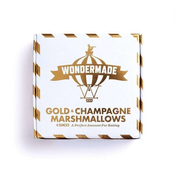 gold marshmallow champagne valentines day