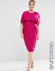 plus size bargain pink dress asos curve
