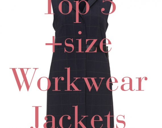 plus size workwear blazer