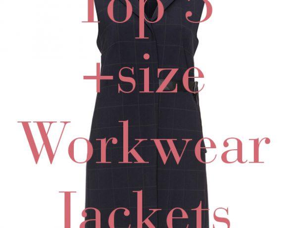 plus size workwear blazer