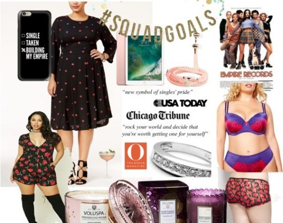 Galentines Day collage
