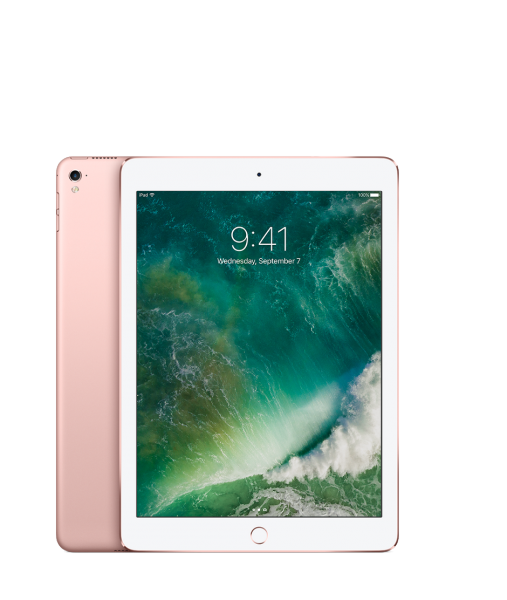 iPad pink rose gold plus size