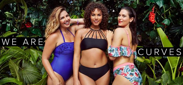 5b9220636428a Simply Be are getting ready to launch their tv campaign for their latest  plus size swimwear drop and the tropically set campaign really gets us  ready to ...