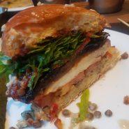 Random image: halloumi vegetarian burger