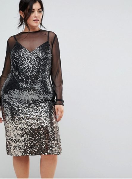 Top 5 Plus Size Christmas Party Dresses From Asos Curve River