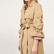 Random image: plus size trench coat
